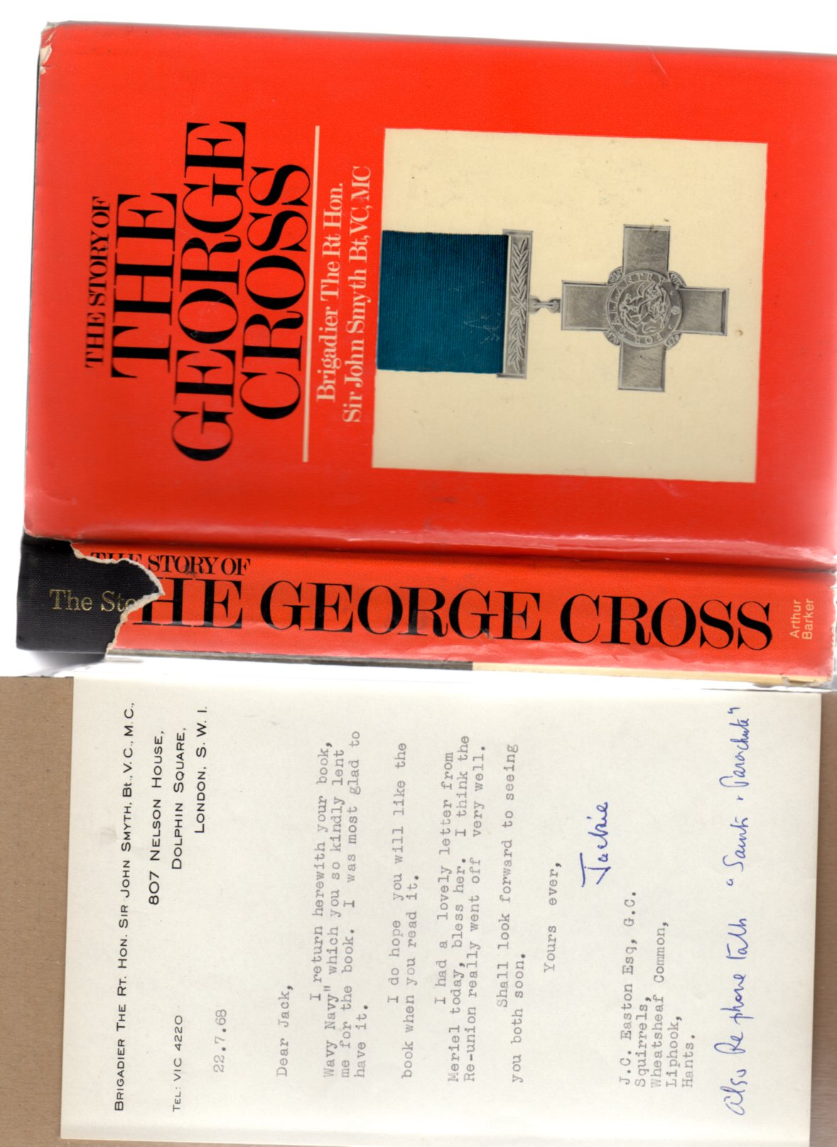 Image for The Story of the George Cross - SIGNED COPY
