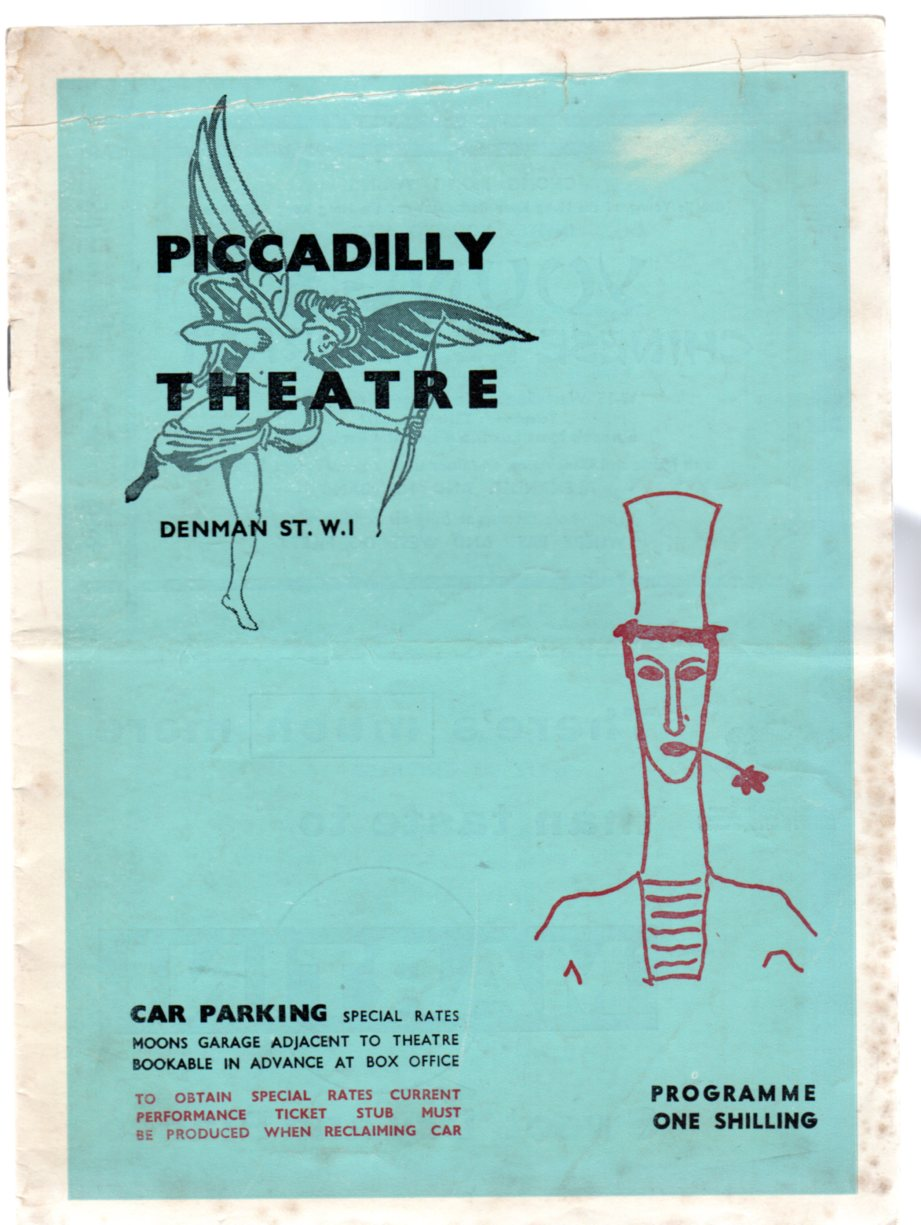 Image for Marcel Marceau - Theatre Programme - The Piccadilly Theatre 1962