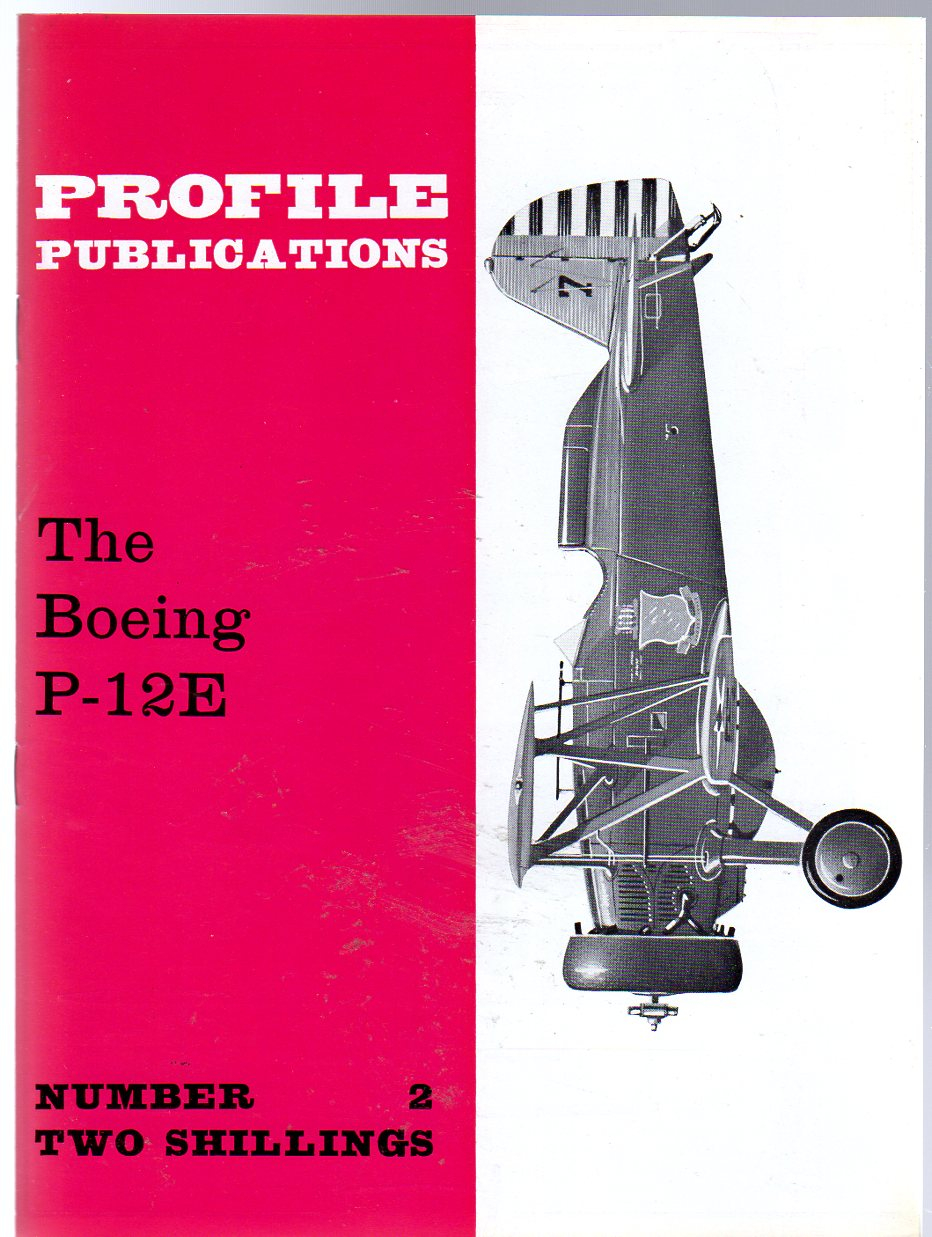 Image for The Boeing P-12E  - Profile Publications No  2