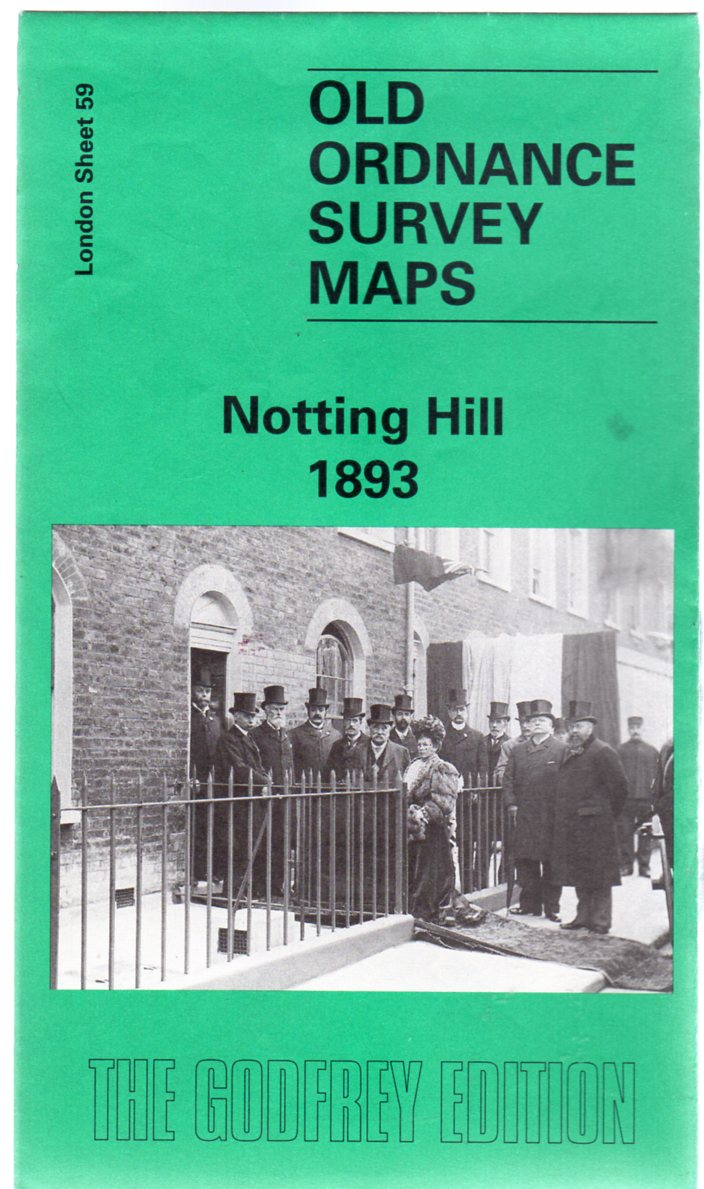 Image for Old Ordnance Survey Maps - London Sheet 59 Notting Hill 1893