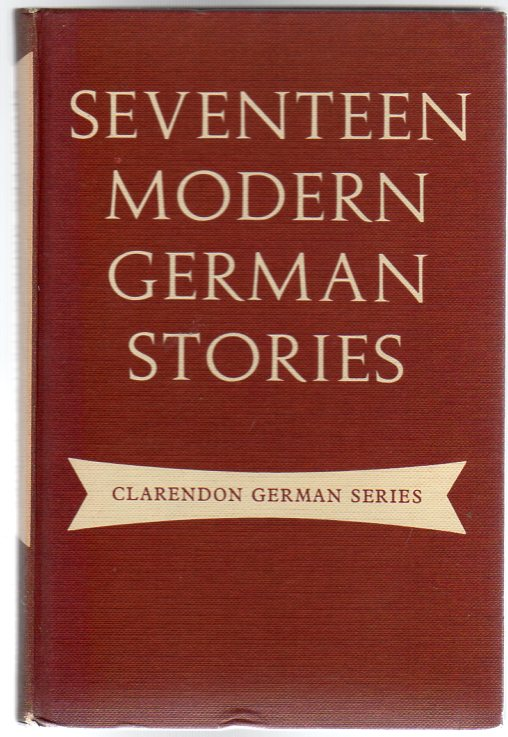 Image for Seventeen Modern German Stories