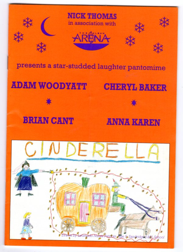 Image for Cinderella (THEATRE PROGRAMME)