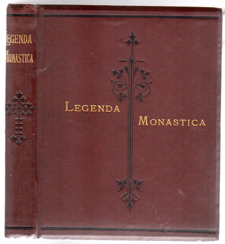 Image for Legenda Monastica and Other Poems