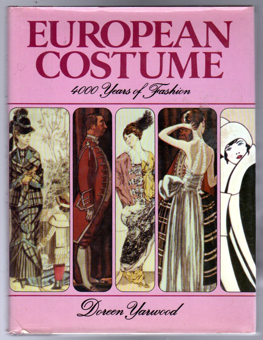 Image for European Costume : 4000 Years of Fashion