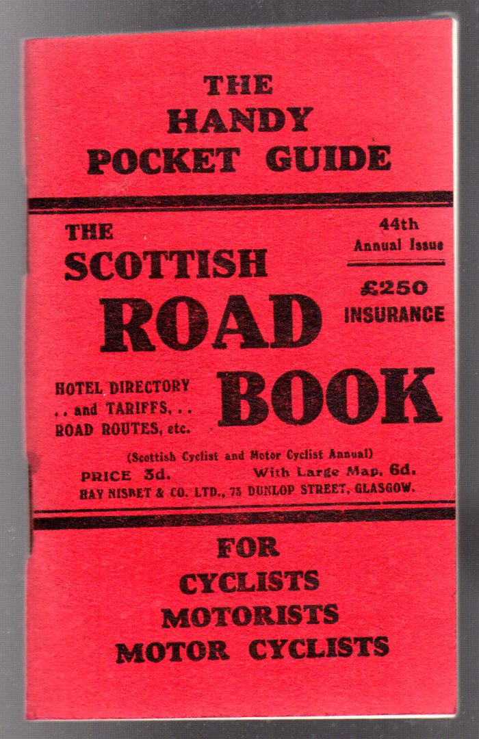Image for The Scottish Road Book