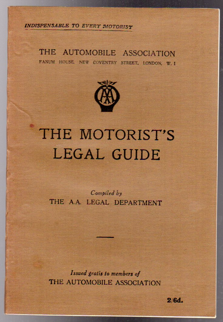 Image for The Motorist's Legal Guide