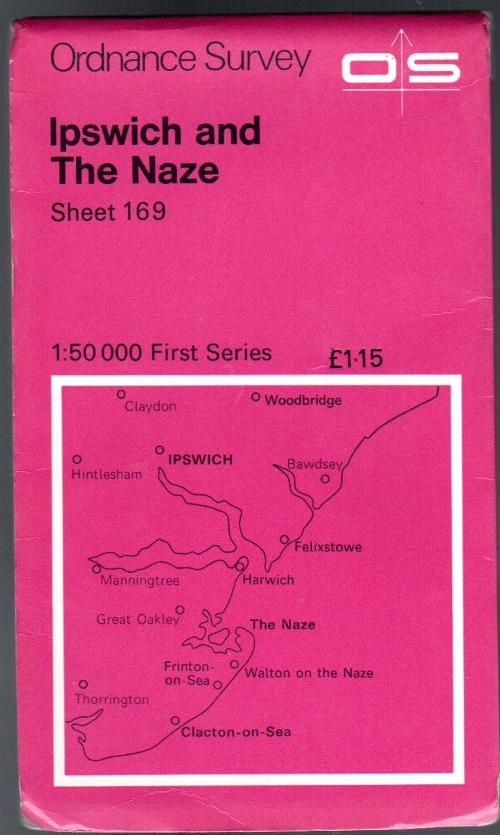 Image for Ordnance Survey Sheet 169 Ipswich and the Naze