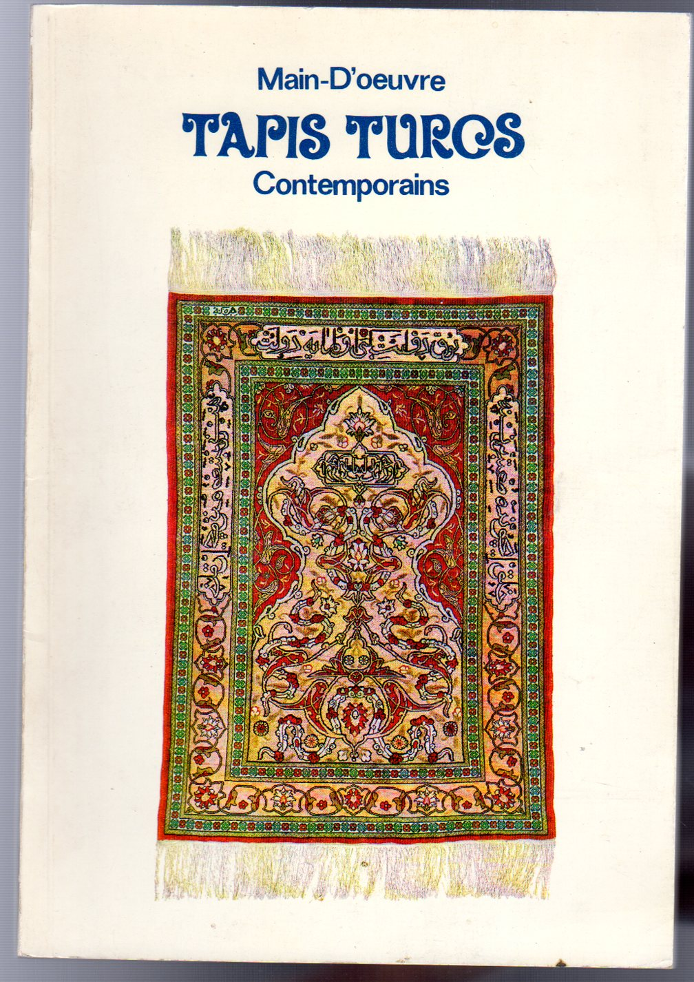 Image for Main-D'oeuvre Tapis Turos Contemporains