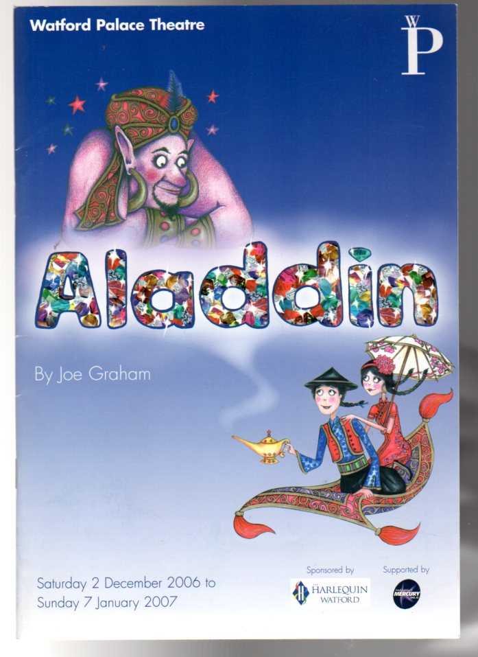 Image for Aladdin   (THEATRE PROGRAMME)
