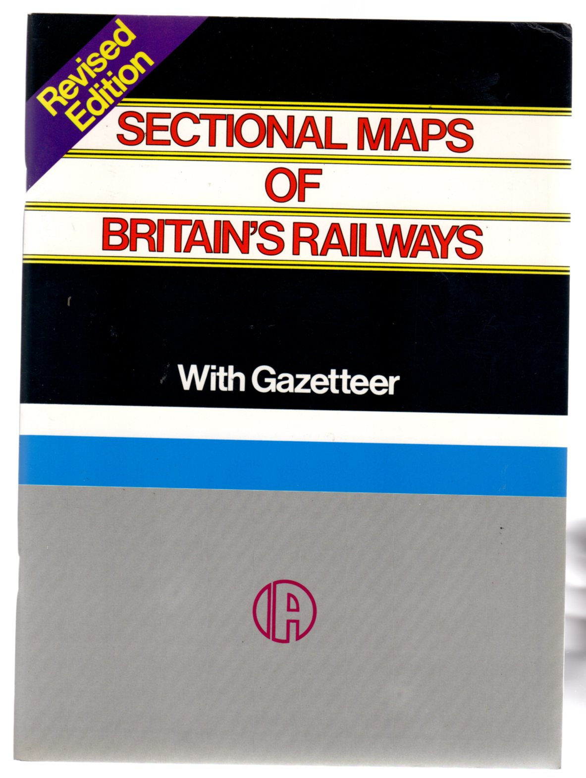 Image for Sectional Maps of Britain's Railways with Gazetteer