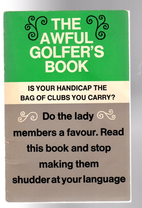 Image for The Awful Golfer's Book