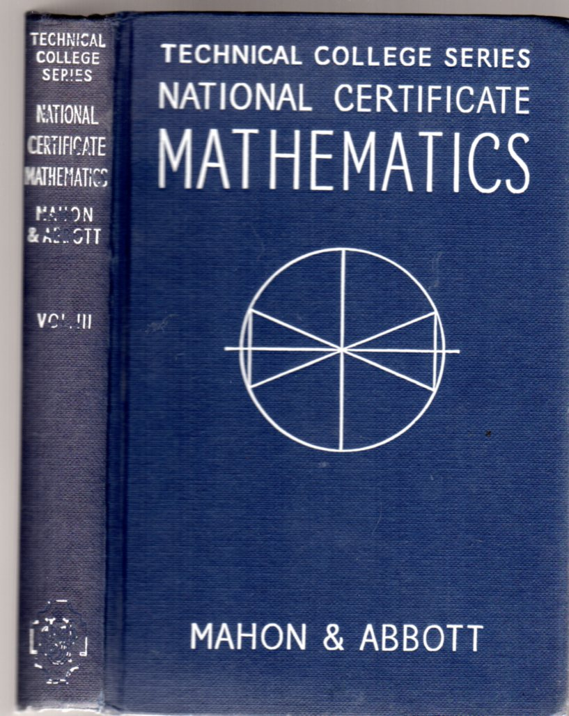 Image for National Certificate Mathematics Volume III