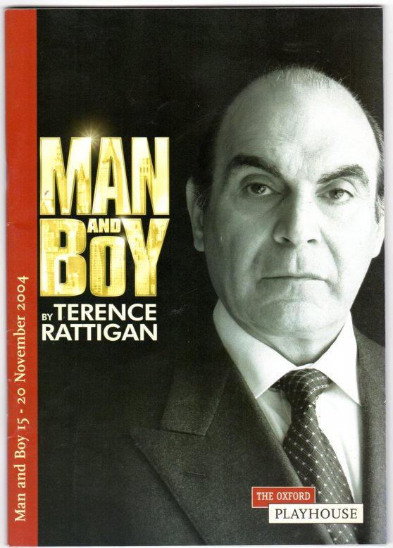 Image for Man and Boy  (THEATRE PROGRAMME)