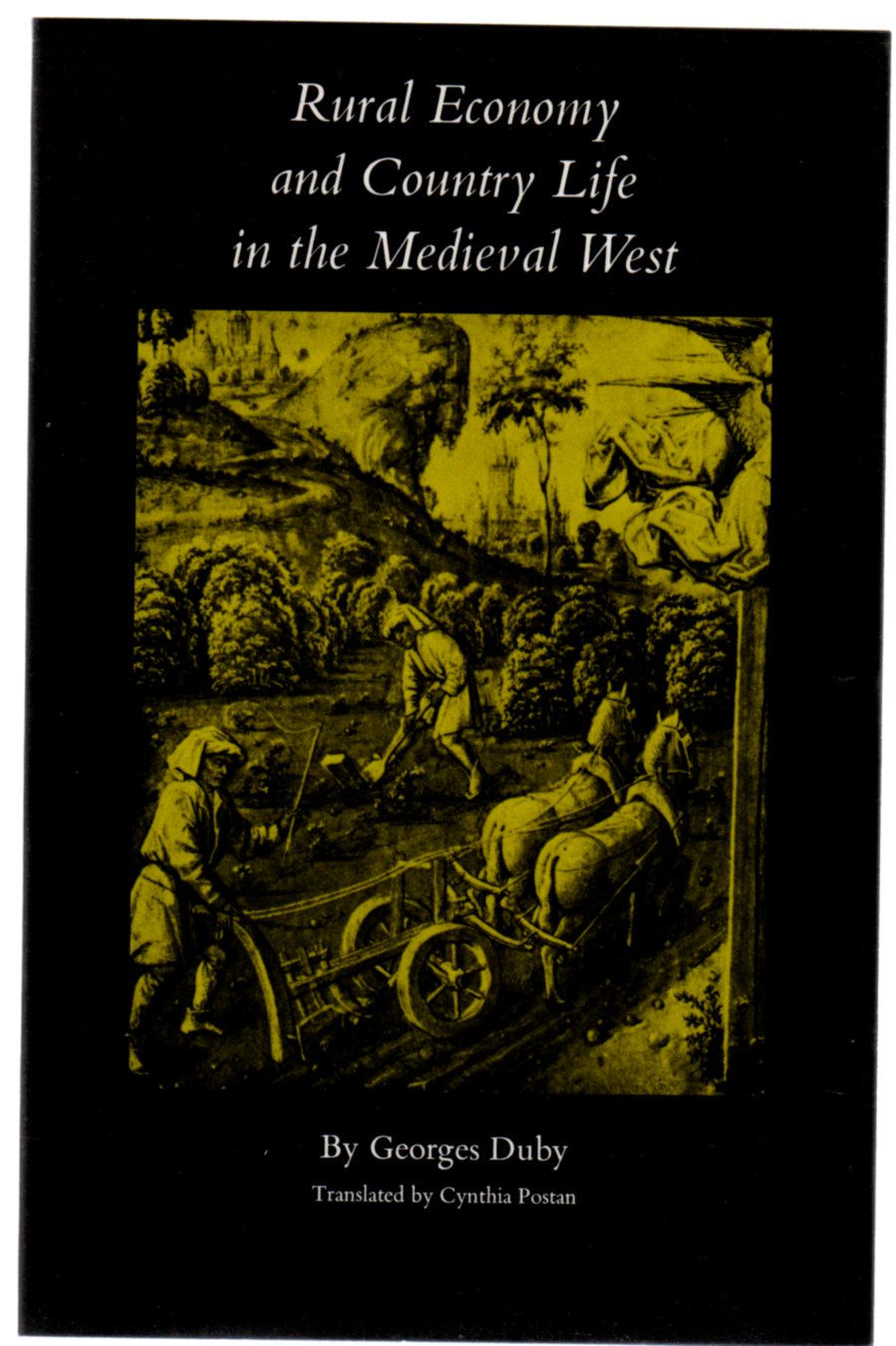 Image for Rural Economy and Country Life in the Mediaeval West