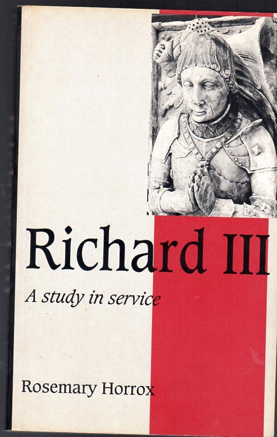 Image for Richard III : A Study of Service