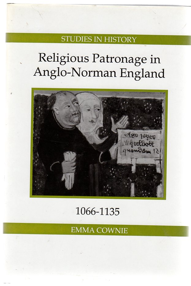 Image for Religious Patronage in Anglo-Norman England, 1066-1135