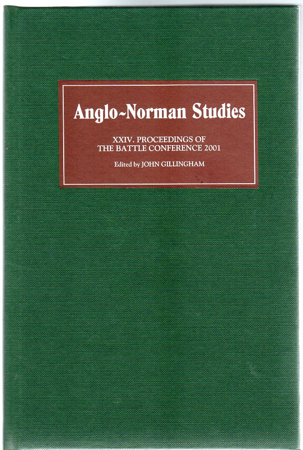 Image for Anglo-Norman Studies XXIV : Proceedings of the Battle Conference 2001