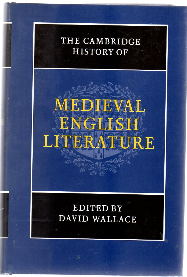 Image for The Cambridge History of Medieval English Literature