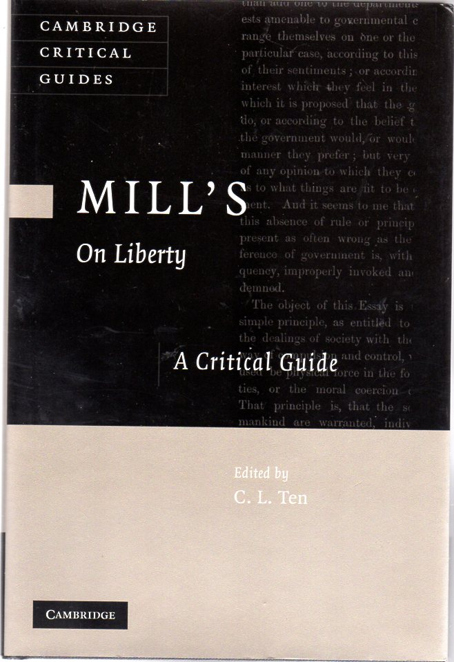 Image for Mill's On Liberty : A Critical Guide
