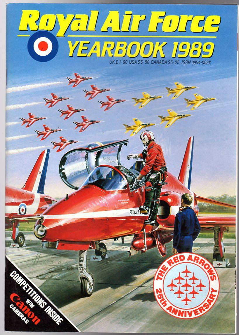 Image for Royal Air Force Yearbook 1989