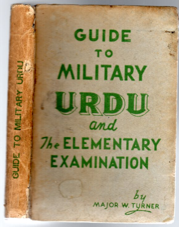 Image for Guide to Military Urdu and the Elementary Examination