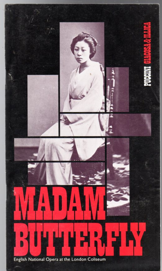 Image for Madam Butterfly (THEATRE PROGRAMME)