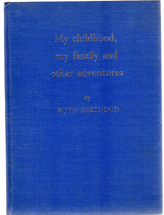 Image for My childhood, my family and other adventures ( SIGNED COPY )