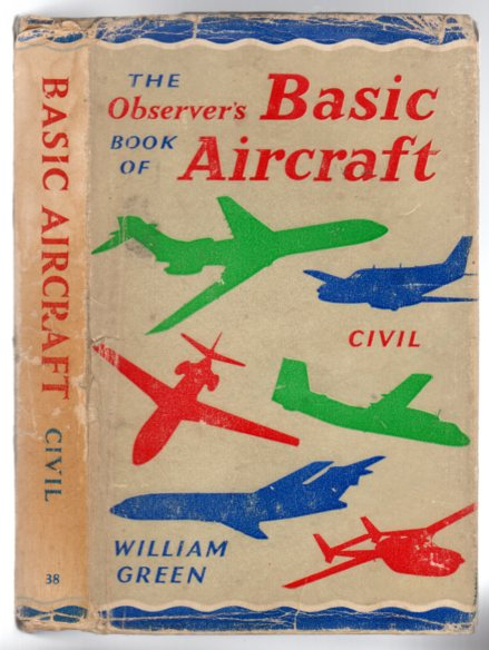 Image for The Observer's Book of Basic Aircraft - Civil