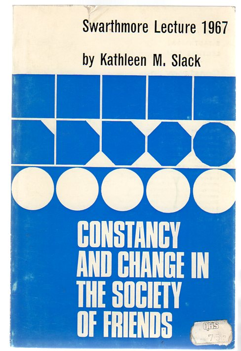 Image for Constancy And Change In The Society Of Friends