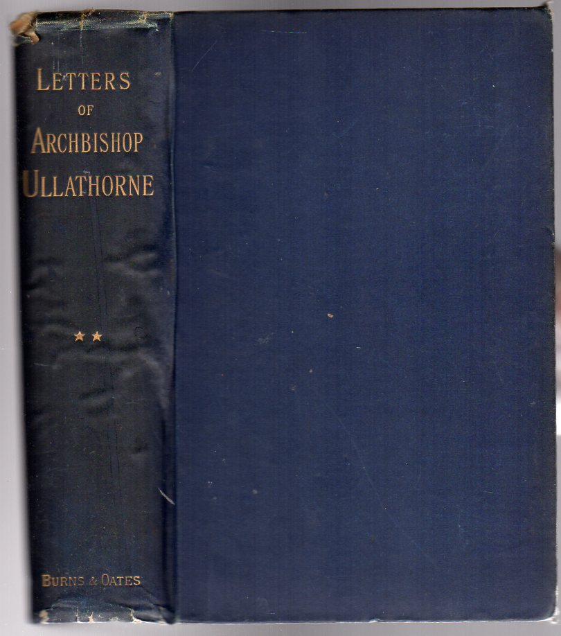 Image for Letters of Archbishop Ullathorne