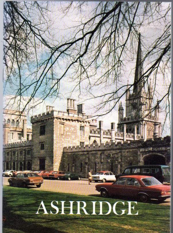 Image for Ashridge - A Short Guide to the History and Principal Features of Ashridge