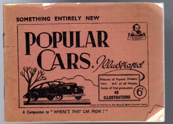 Image for Popular Cars Illustrated