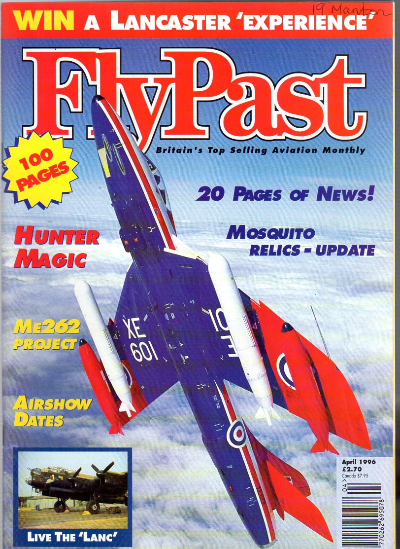 Image for FlyPast Magazine April 1996 No 177