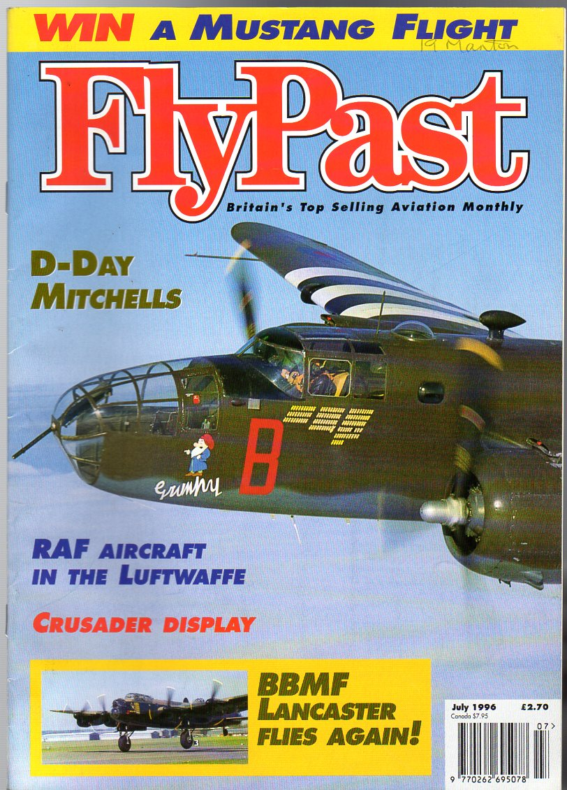 Image for FlyPast Magazine July 1996 No. 180