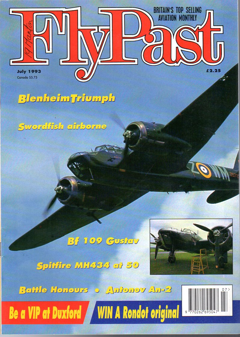 Image for FlyPast Magazine July 1993 No. 144