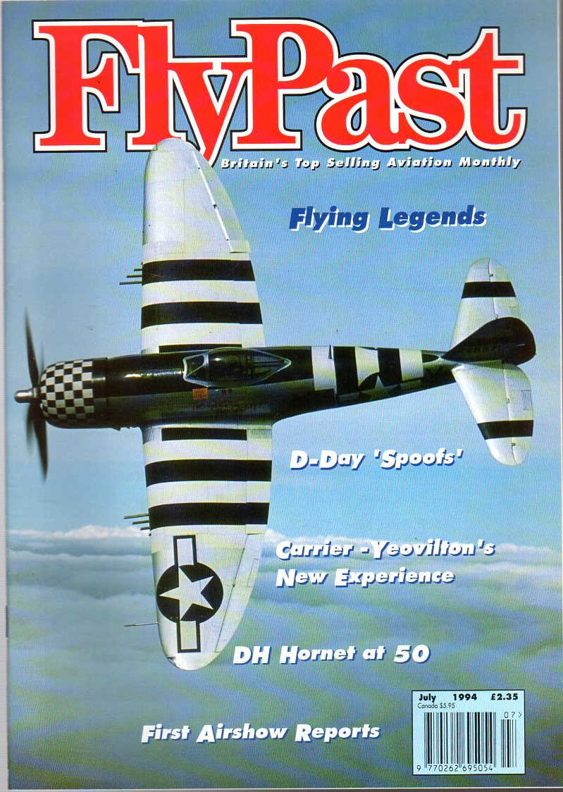 Image for FlyPast Magazine July 1994 No 156