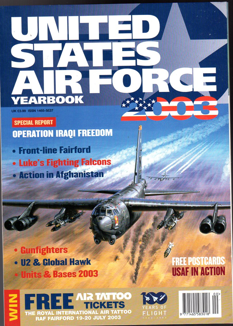 Image for United States Air Force  Yearbook 2003