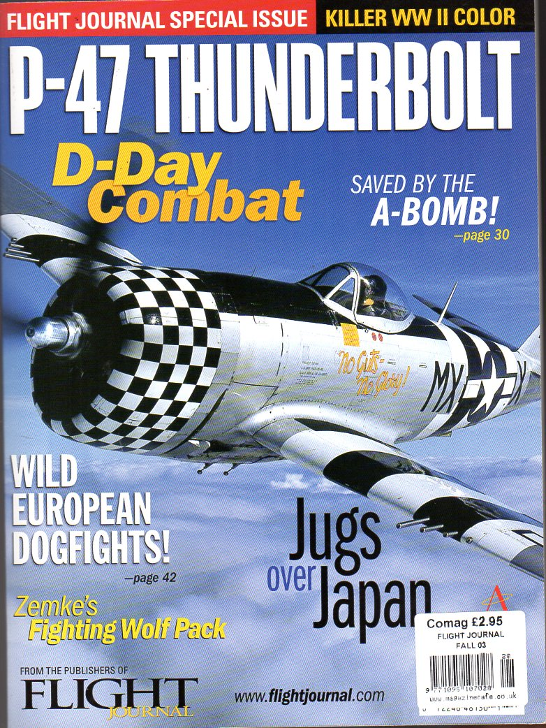 Image for P-47 Thunderbolt -  Flight Journal Special Issue
