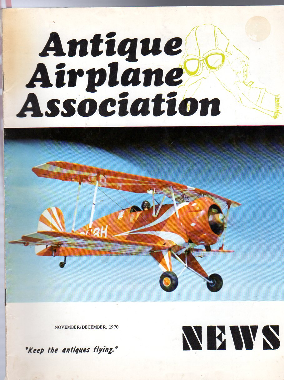Image for Antique Airplane Association News