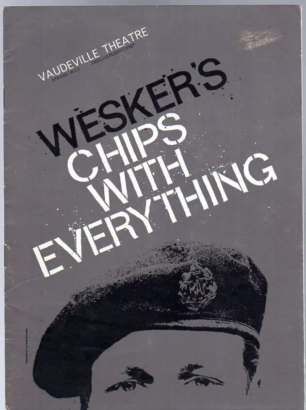 Image for Chips with Everything (THEATRE PROGRAMME)