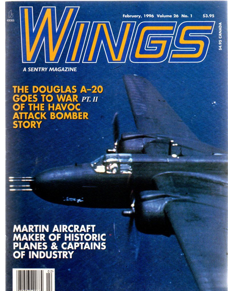 Image for Wings - a Sentry Magazine February 1996 Vol 26 No 1