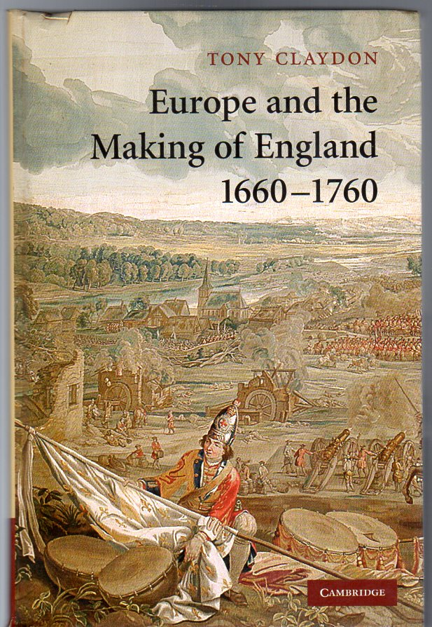 Image for Europe and the Making of England, 1660-1760 (Cambridge Studies in Early Modern British History)