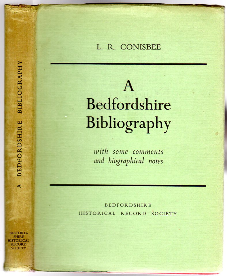 Image for A Bedfordshire Bibliography : with some comments and biographical notes