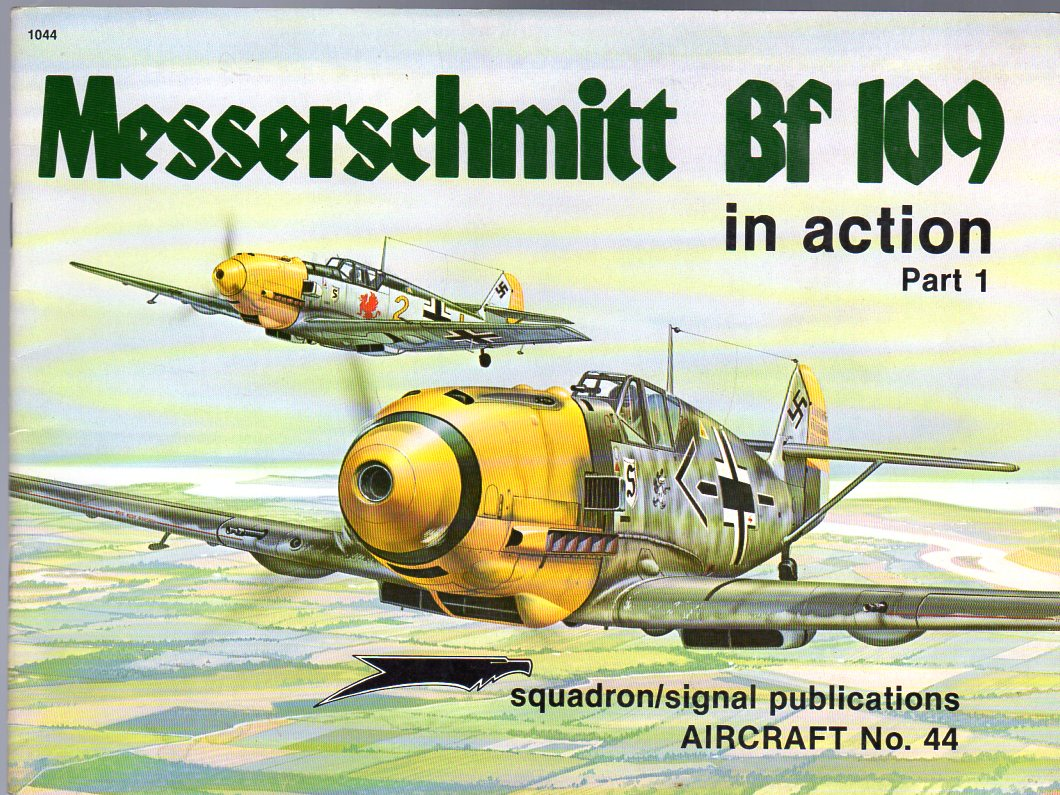 Image for Messerschmitt Bf 109 in Action, Part 1 - Aircraft No. 44
