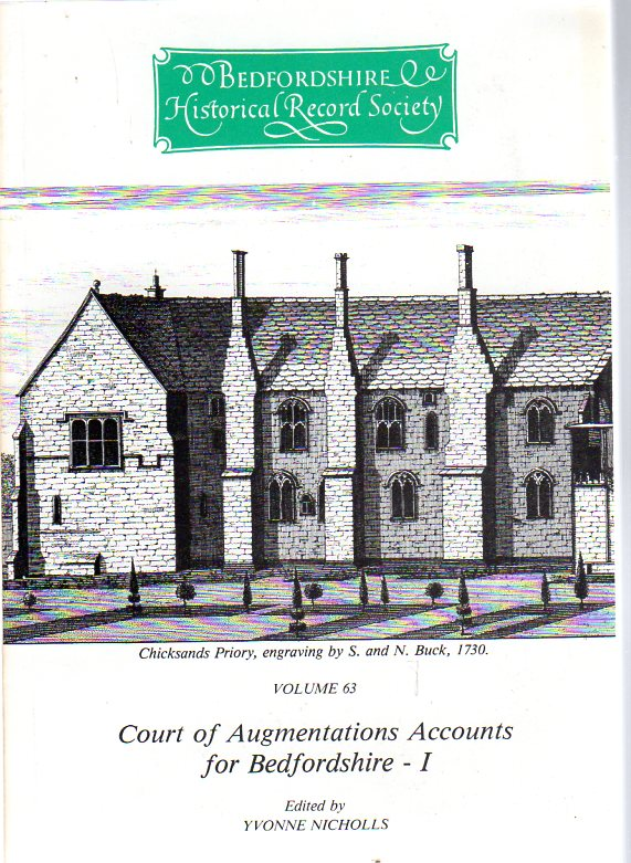 Image for Court of Augmentation Accounts for Bedfordshire : Part I