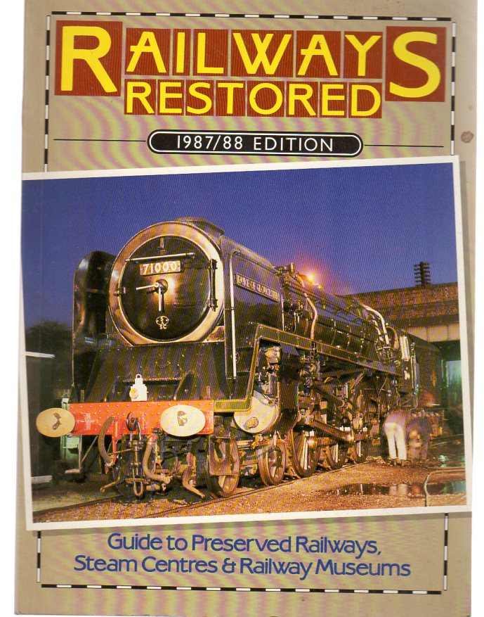 Image for Railways Restored 1987-88 Edition