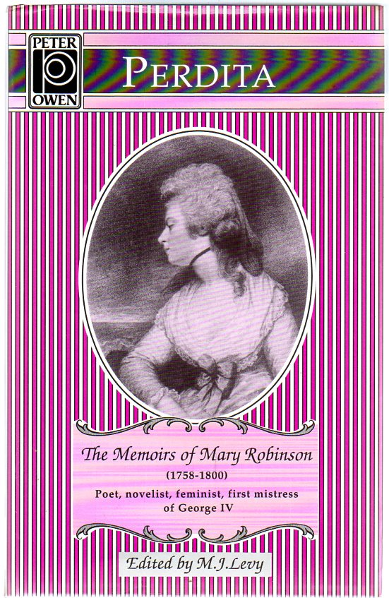 Image for Perdita : The Memoirs of Mary Robinson
