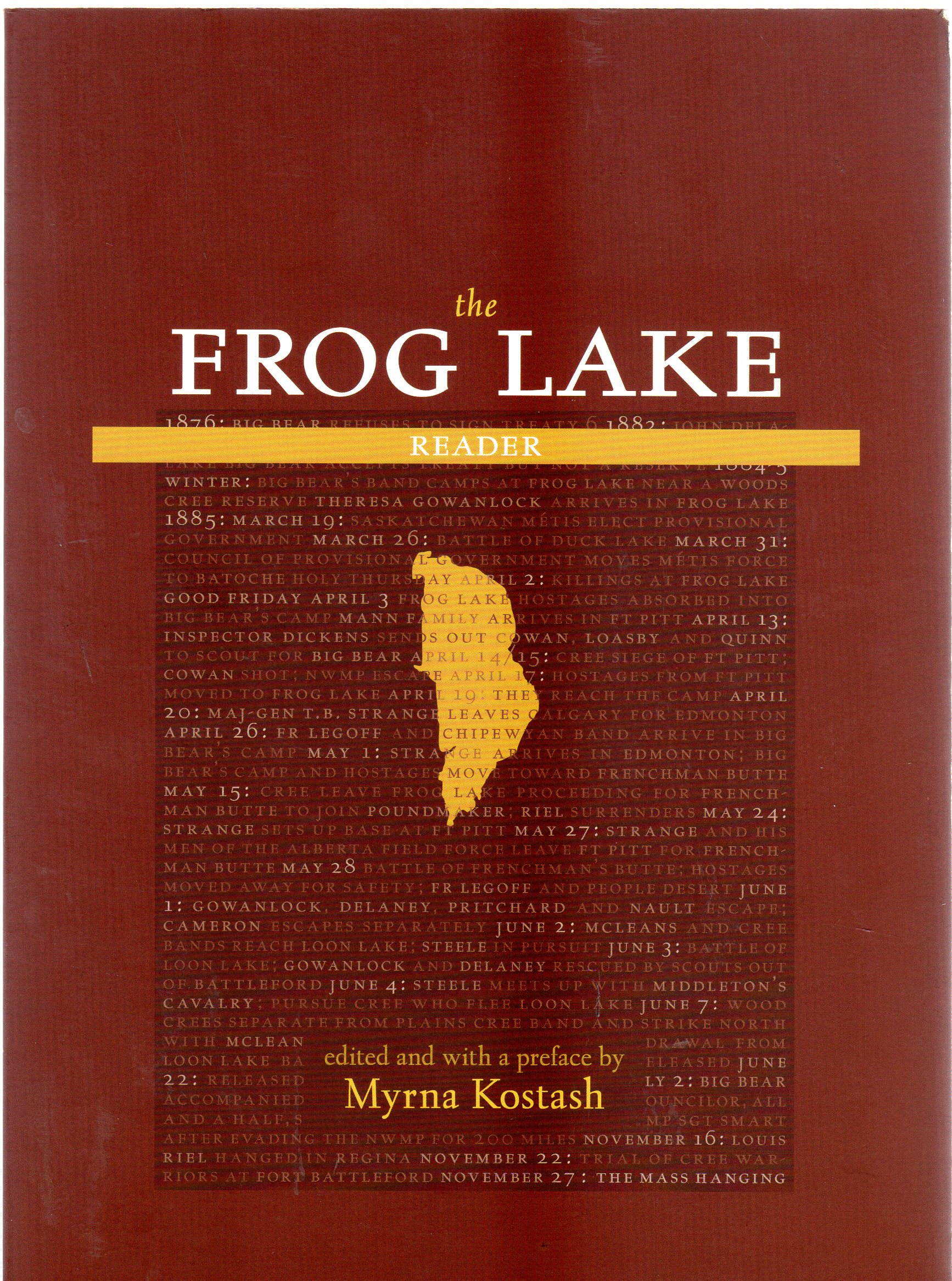 Image for The Frog Lake Reader