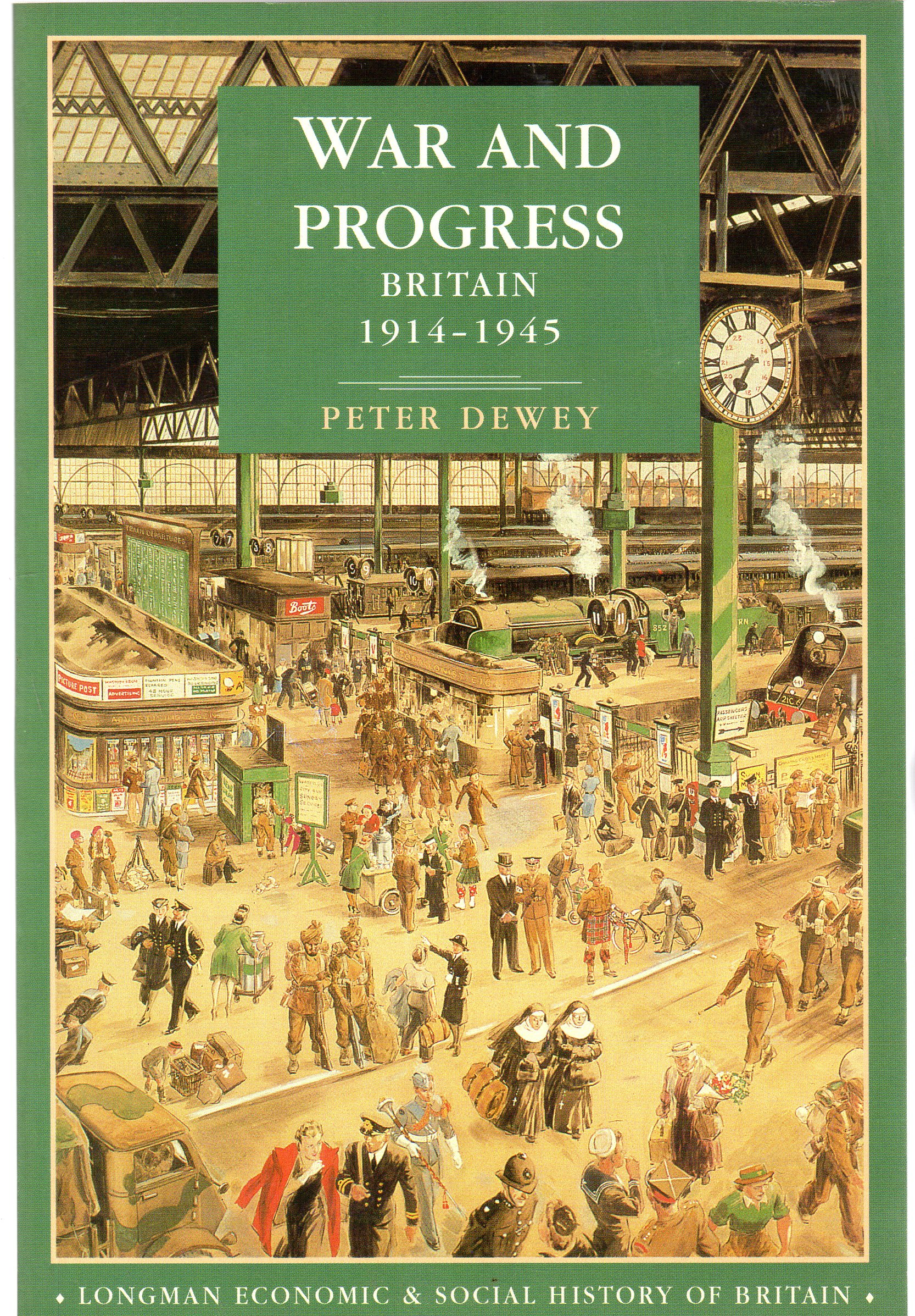 Image for War and Progress : Britain, 1914-45