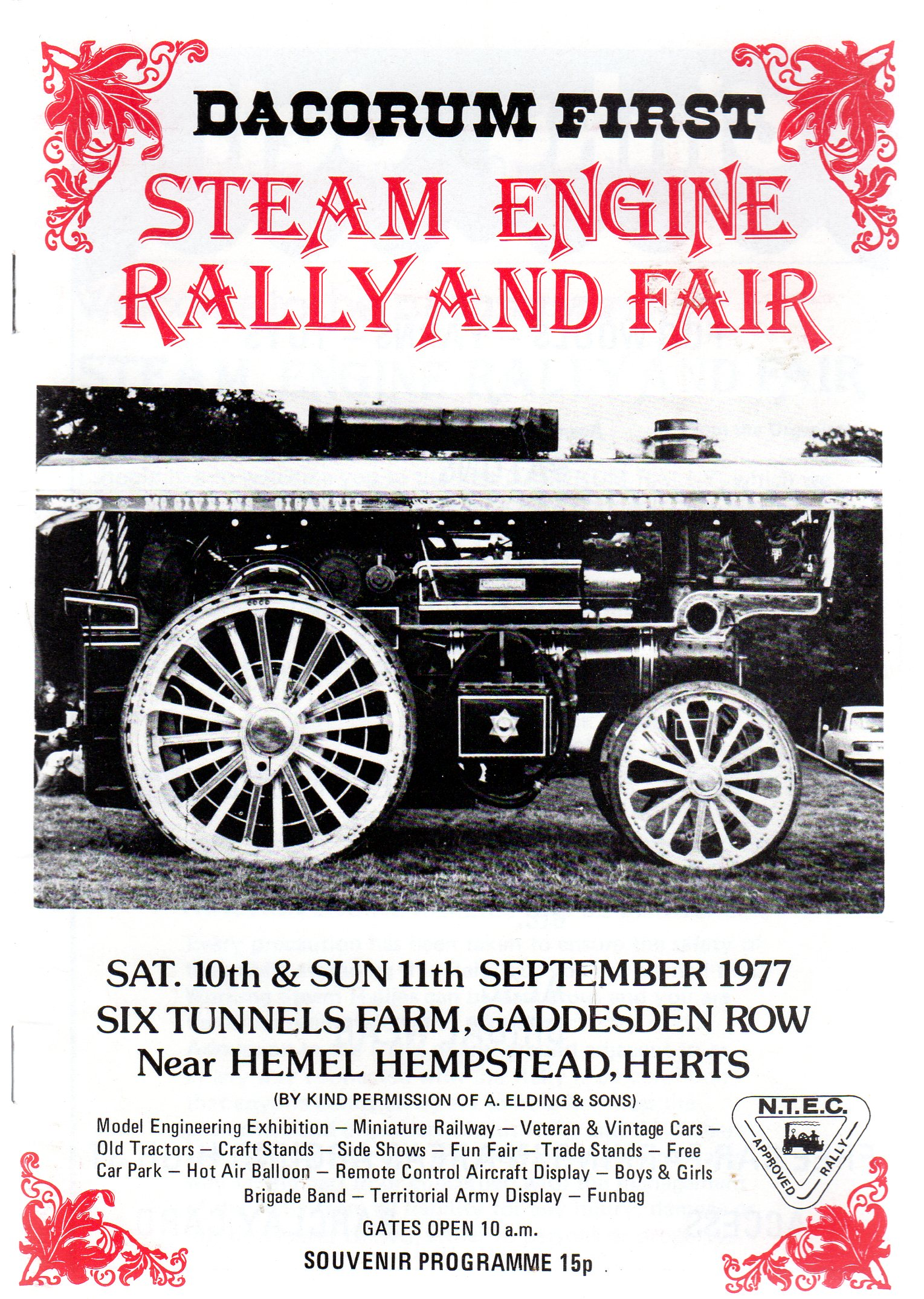 Image for Dacorum First Steam Engine Rally and Fair